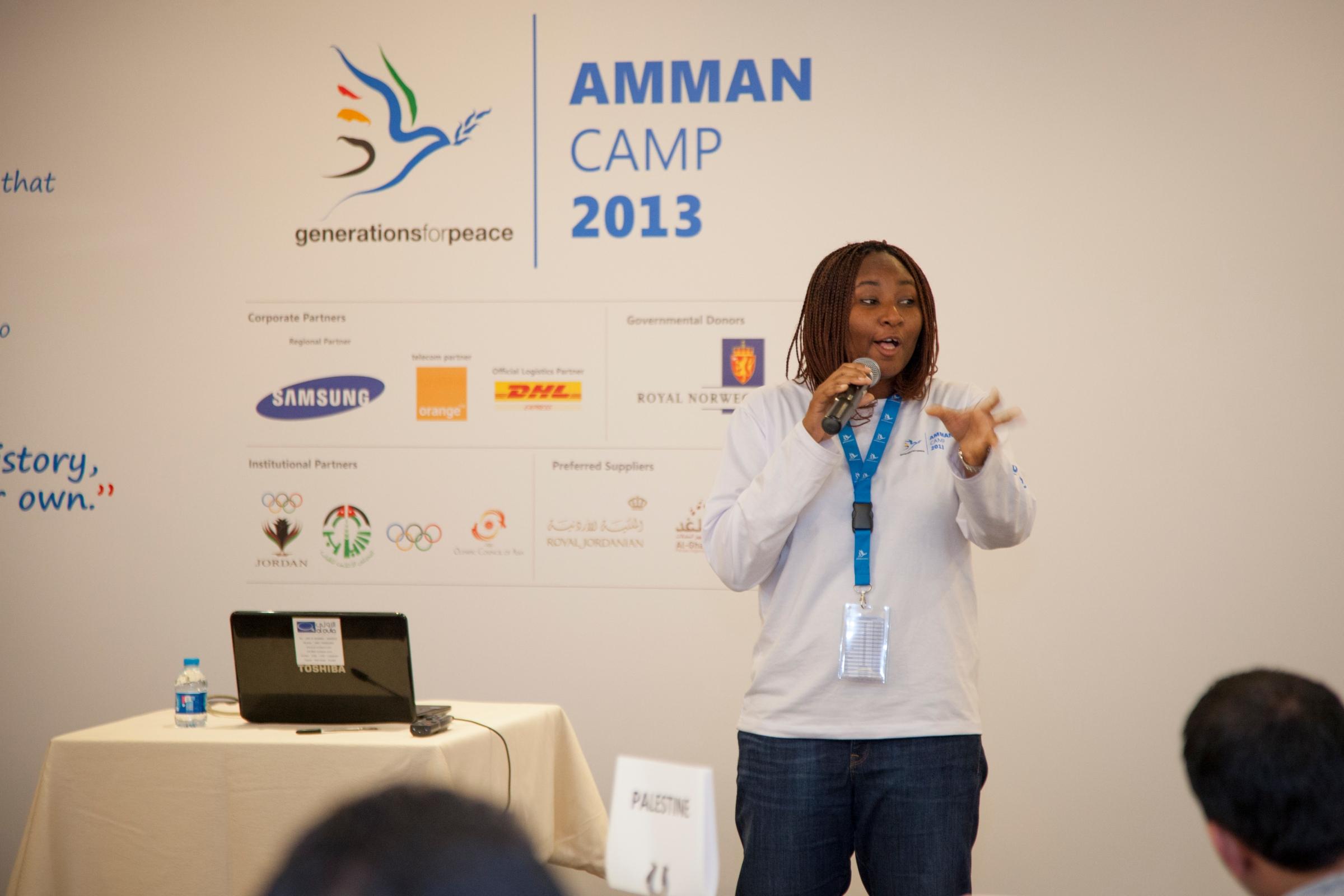 Safiya, Amman Camp 2013