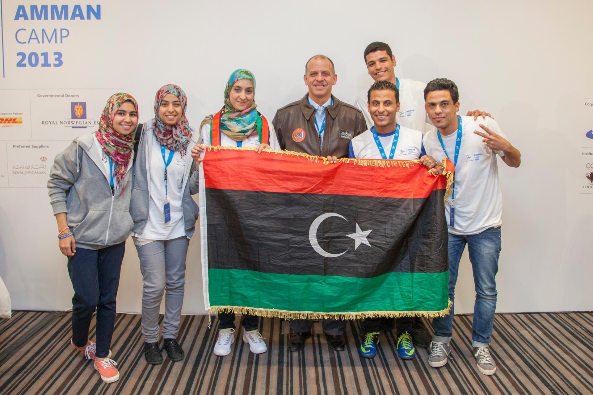 Libyan Delegates, Amman Camp 2013