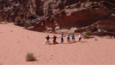 Penn Volunteers in Wadi Rum