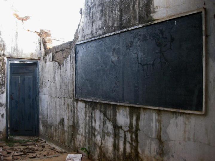 Puthukudiyiruppu - School Blackboard - MH
