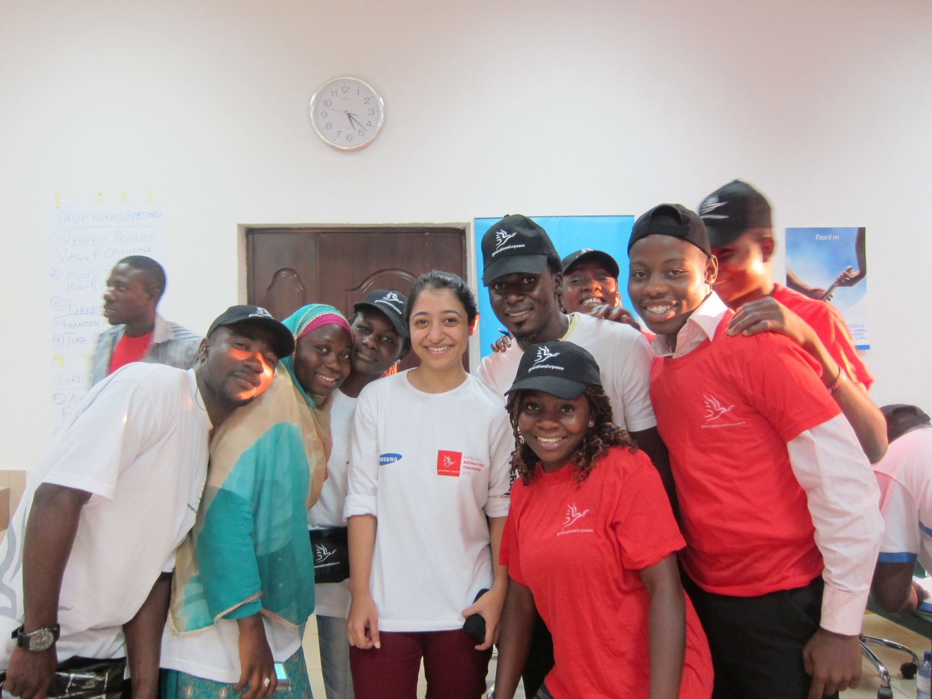 SY and NGR Volunteers