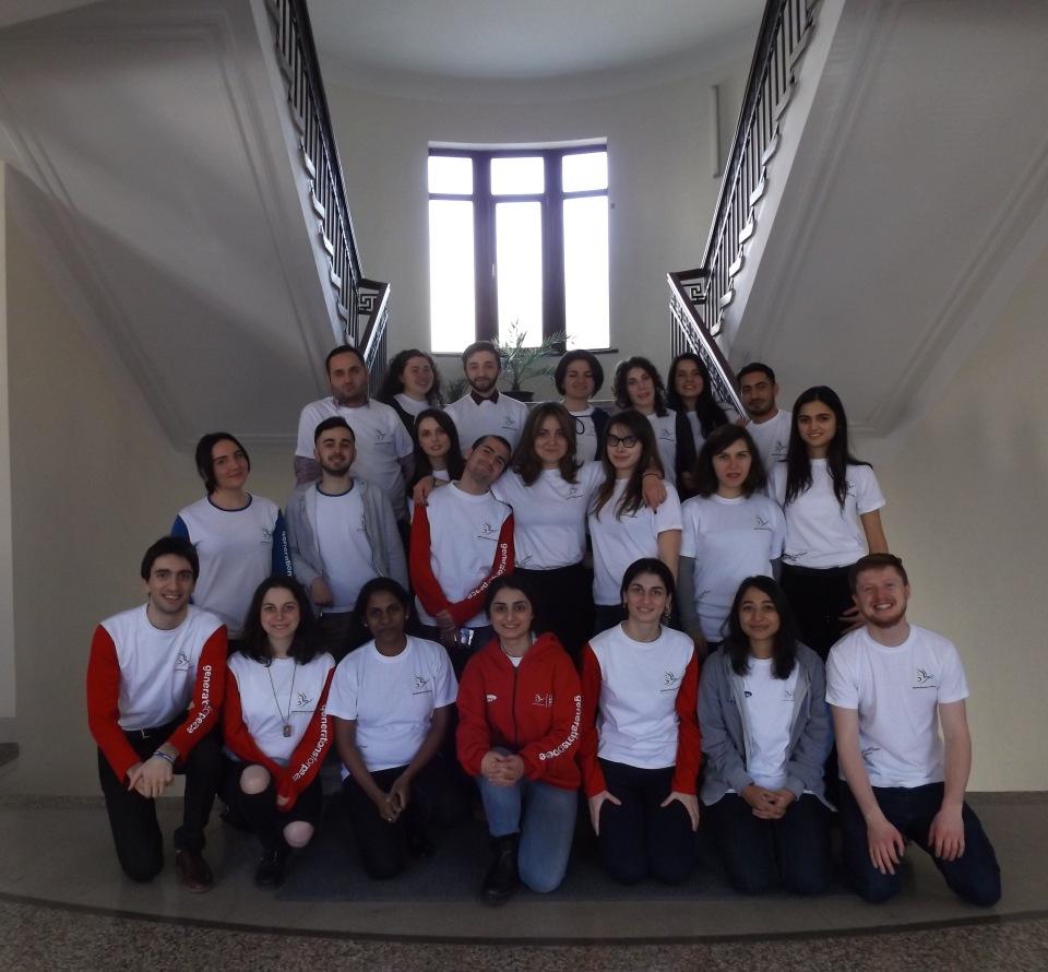 GFP volunteers from Georgia