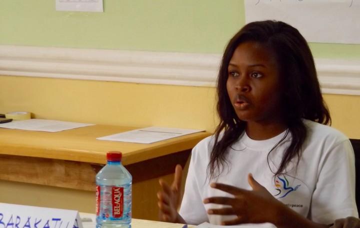 GFP volunteer Ghana