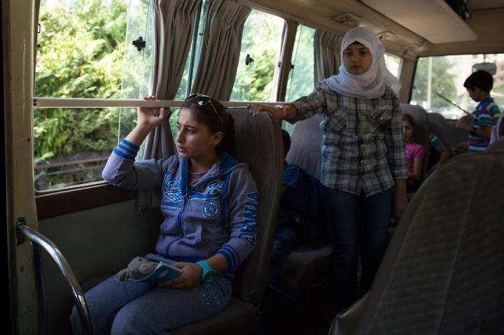 Nariman - school bus