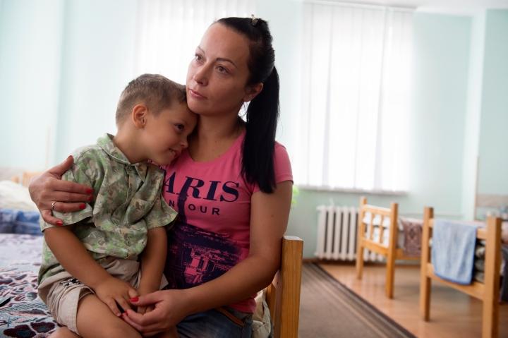 Mother and child - Ukraine