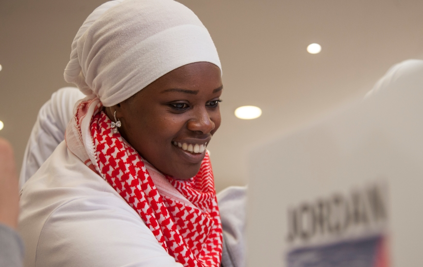 Hana Jumah - GFP volunteer and facilitator