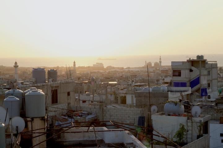 Rooftop in Miye Ou Miye, Saida, Lebanon
